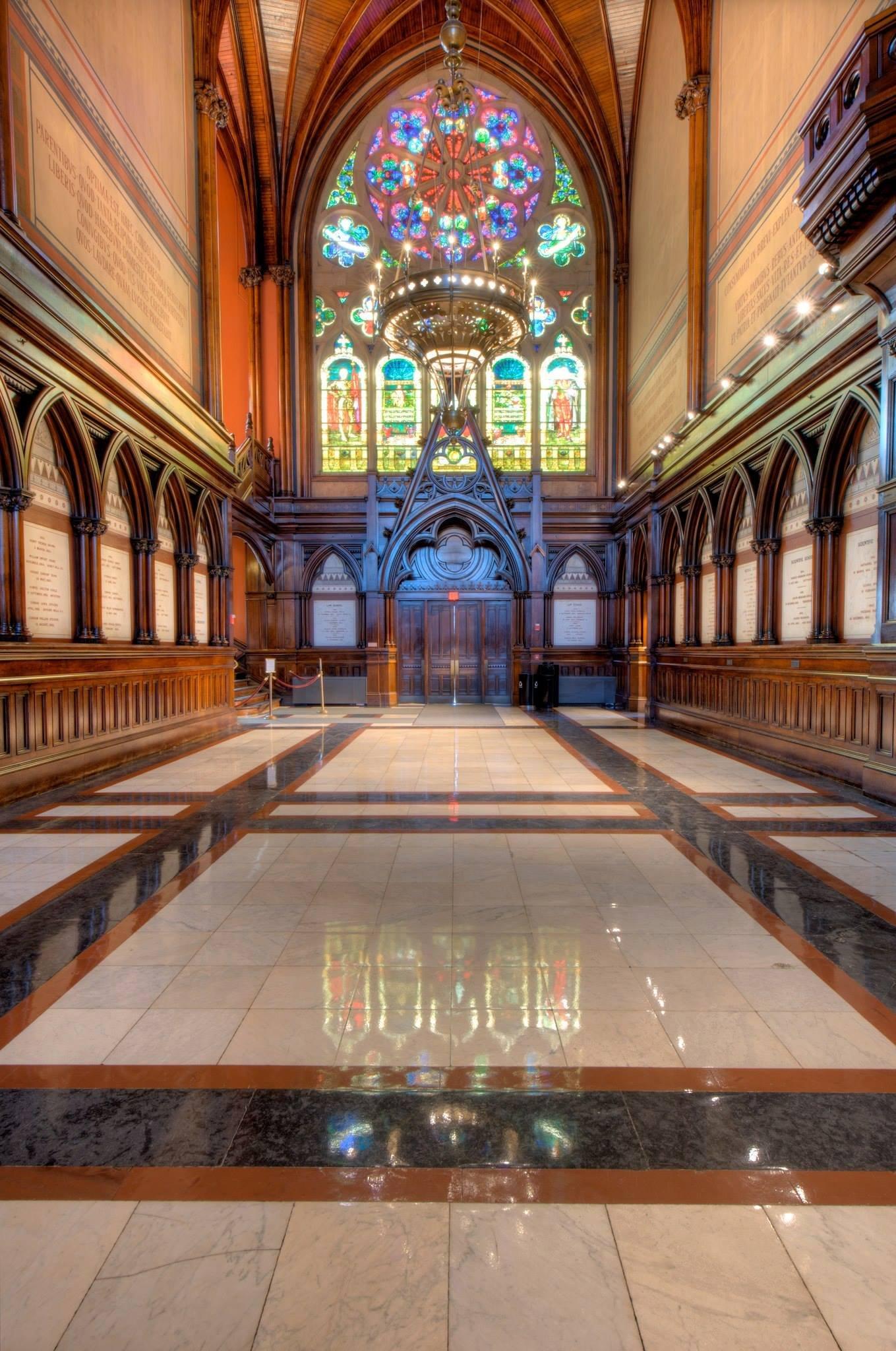 Brimmer Memorial Window in the Memorial Transept