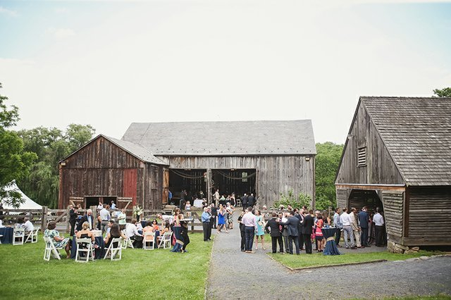 The plantation is available for rental, such as this wedding celebration and reception.