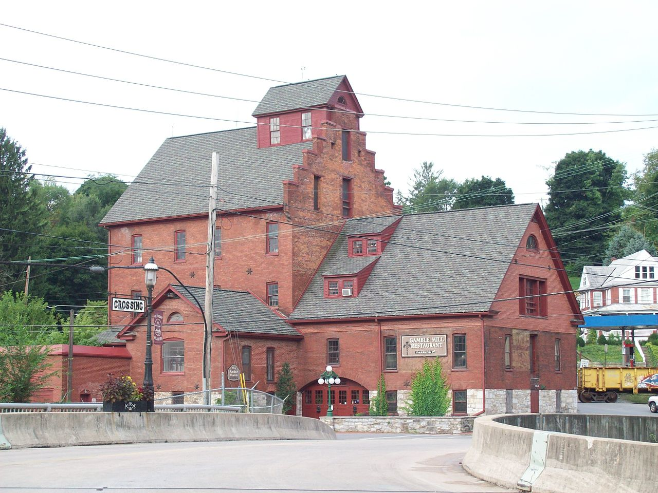 The former Gamble Mill remains an important landmark in Bellefonte.
