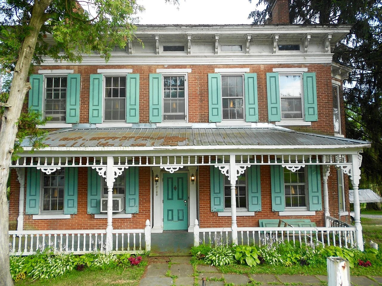 The Major Jared B. Fisher House was built in 1856 and is now home to a fine dining restaurant.