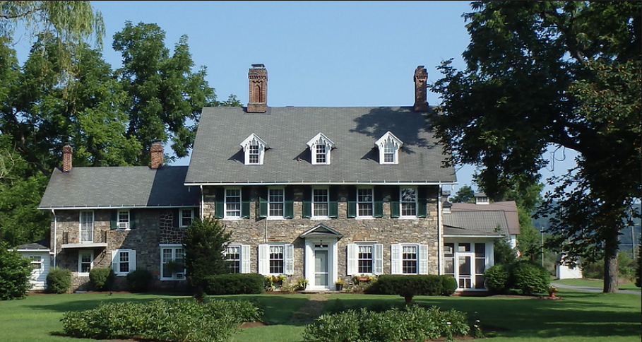 Harmony Forge Mansion was built in 1820 by Joseph Miles. The owners of the Inn bought the old building in 2012.