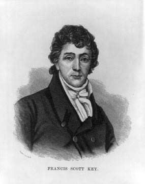 "Francis Scott Key was alive from August 1, 1779 until January 11, 1893. He lived most of his life in Frederick, Maryland. He is most well-known for creating ""The Star Spangled Banner,"" though he was primarily a lawyer in his lifetime. From National P"