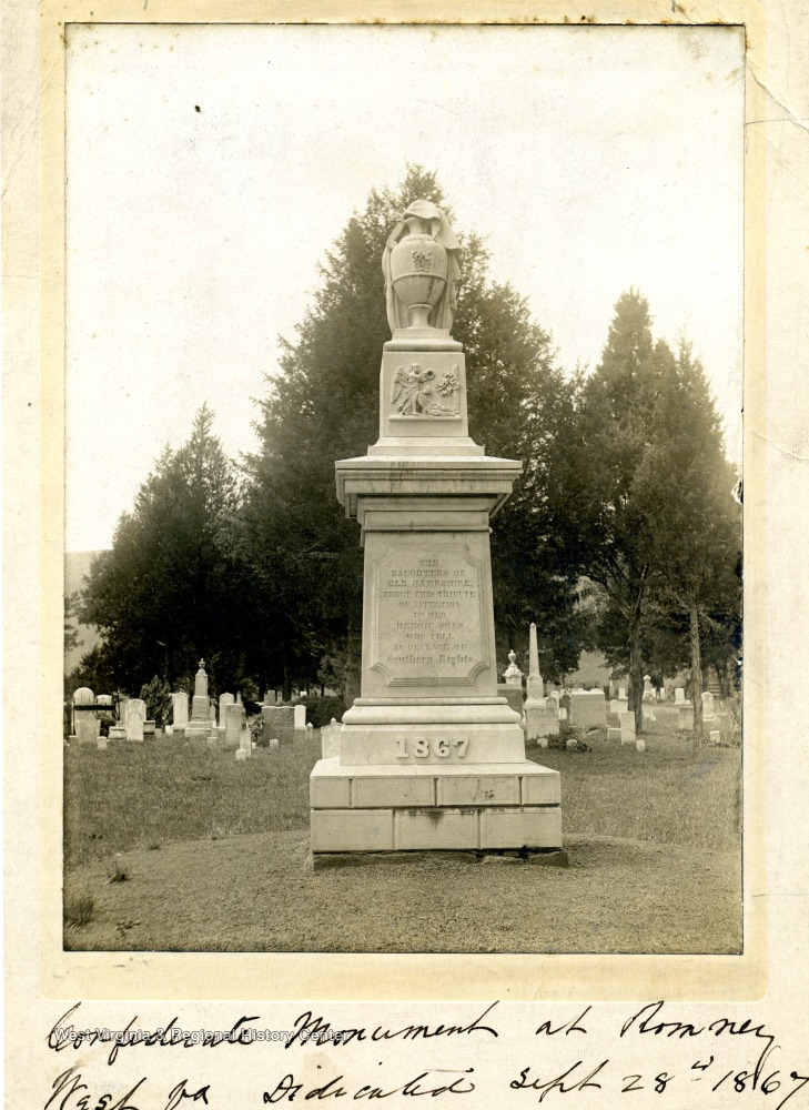 Confederate Monument in Romney