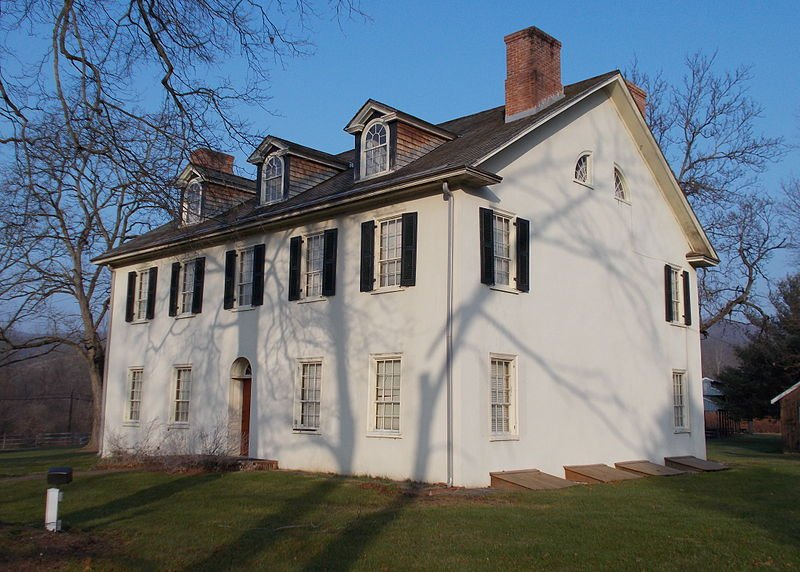 The Curtin family mansion was built around 1830. The entire property was 30,000 acres, which included the iron mines.