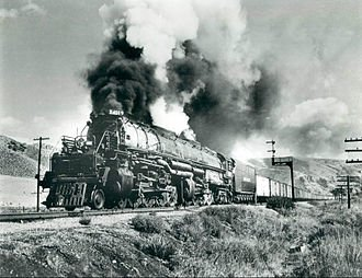 One of the Union Pacific's Big Boy locomotives.