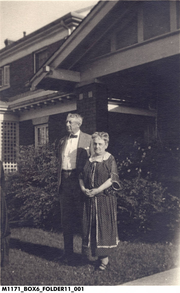 Harry N. and Sara Louise Timolat. Harry created the Cantol Wax Company.