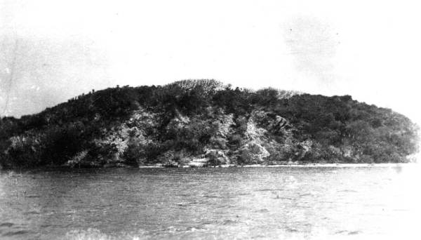 The first image of the mounds