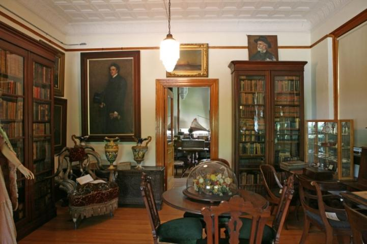 Photograph of the inside of the Vineland Historical and Antiquarian Society.