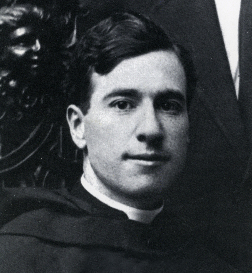 Fr. Michael McInerney (1877-1963), architect who designed St. Leo 's Hall, and a monk of Belmont Abbey.