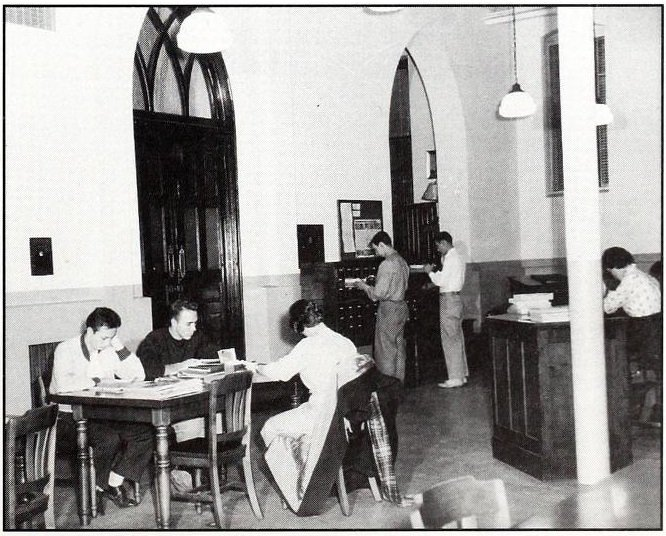 St. Leo's Campus Library. Source: Paschal Baumstein, Blessings in the Years to Come (1997)
