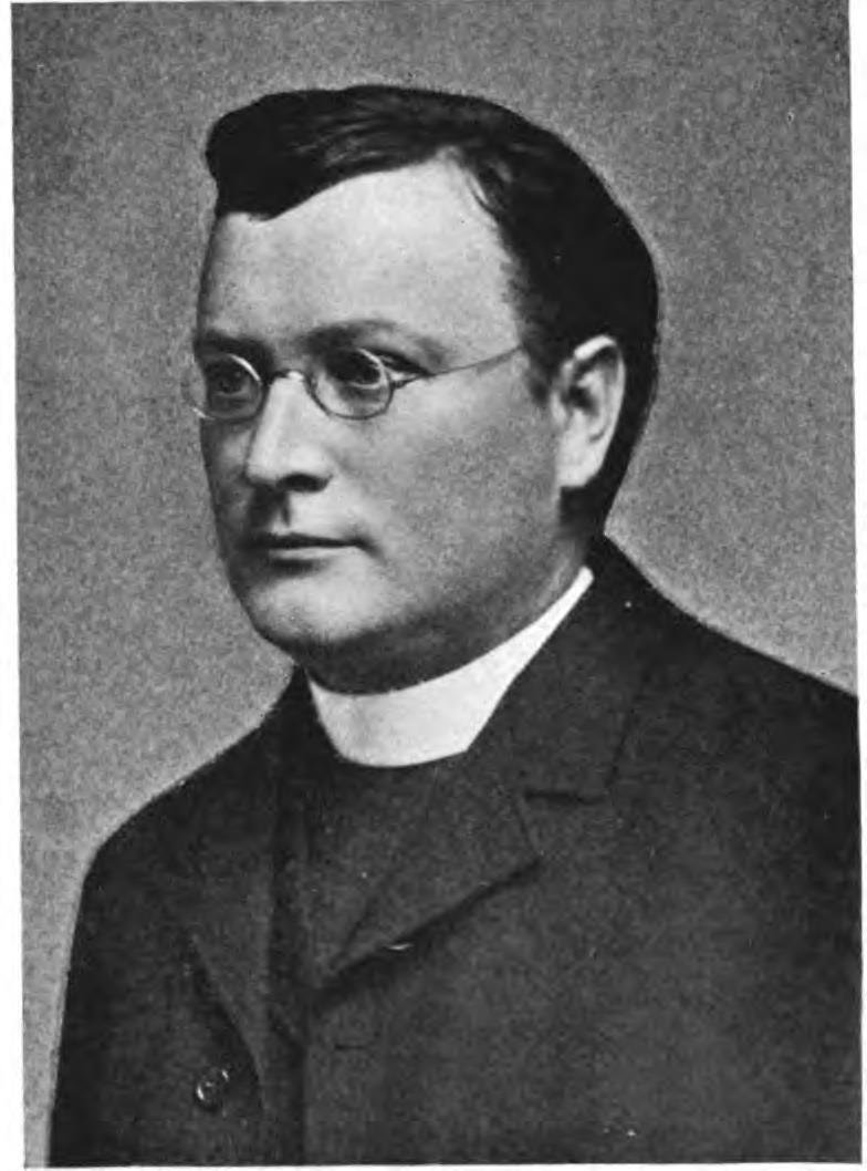 Father Felix Hintermeyer, prior of Belmont Abbey, and proponent of the Grotto's construction. Source: The Catholic Church in the United States of America (New York: Catholic Editing Company, 1914).