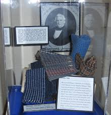A collection of the famous Almanance Plaids.