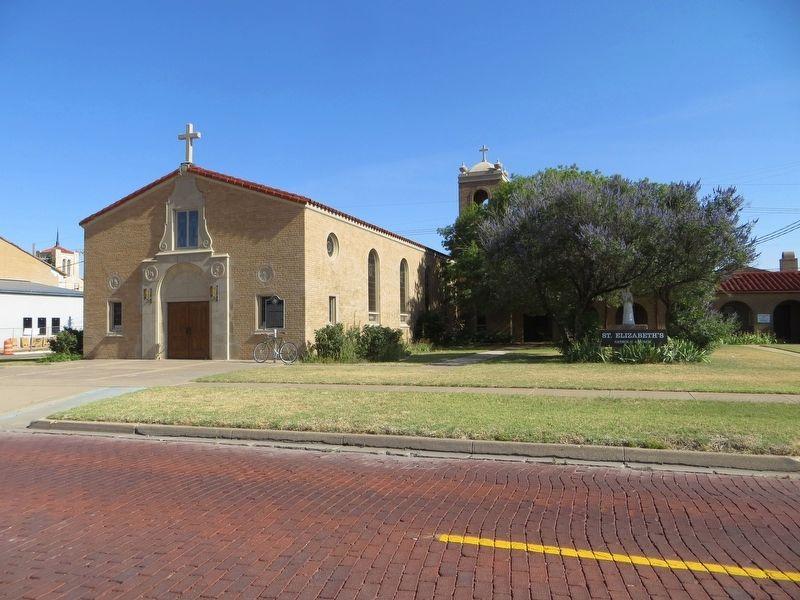 St. Elizabeth University Parish was established in 1935 as St. Elizabeth Catholic Church.