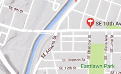 Here's the location in Google Maps.