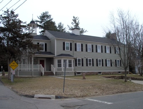 Union Hall, also known as Farmington Academy, now exists as a private residence.