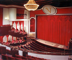 Inside the Valentine Theatre