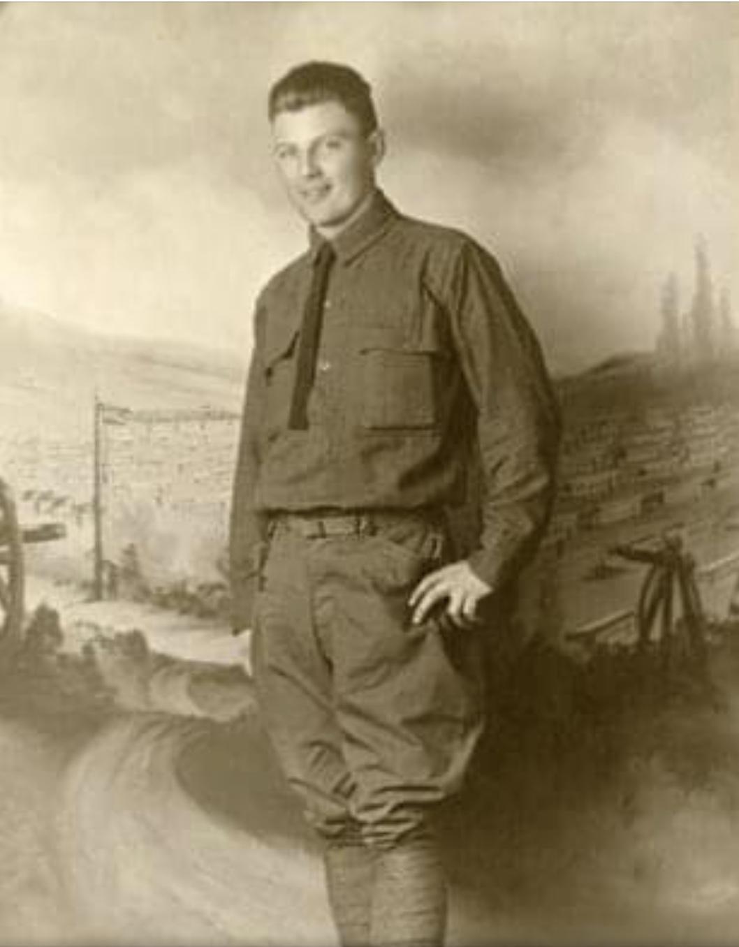 Frederick J Vergenz Private 1st Class