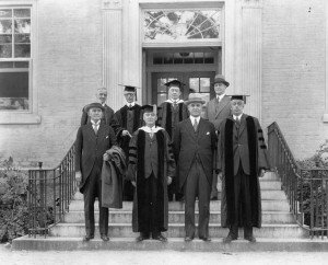 Wilson Library Dedication Party in 1929