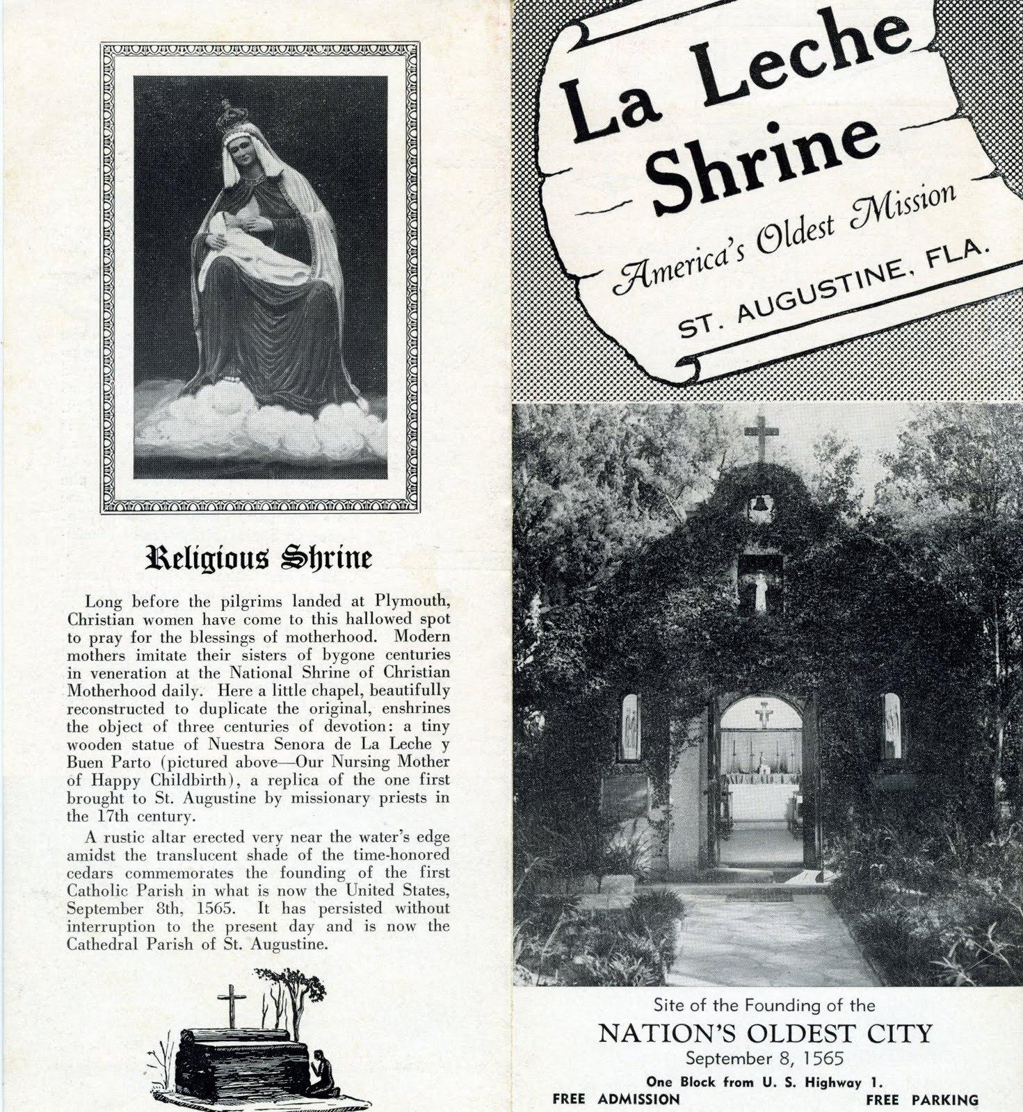La Leche Shrine: America's Oldest Mission