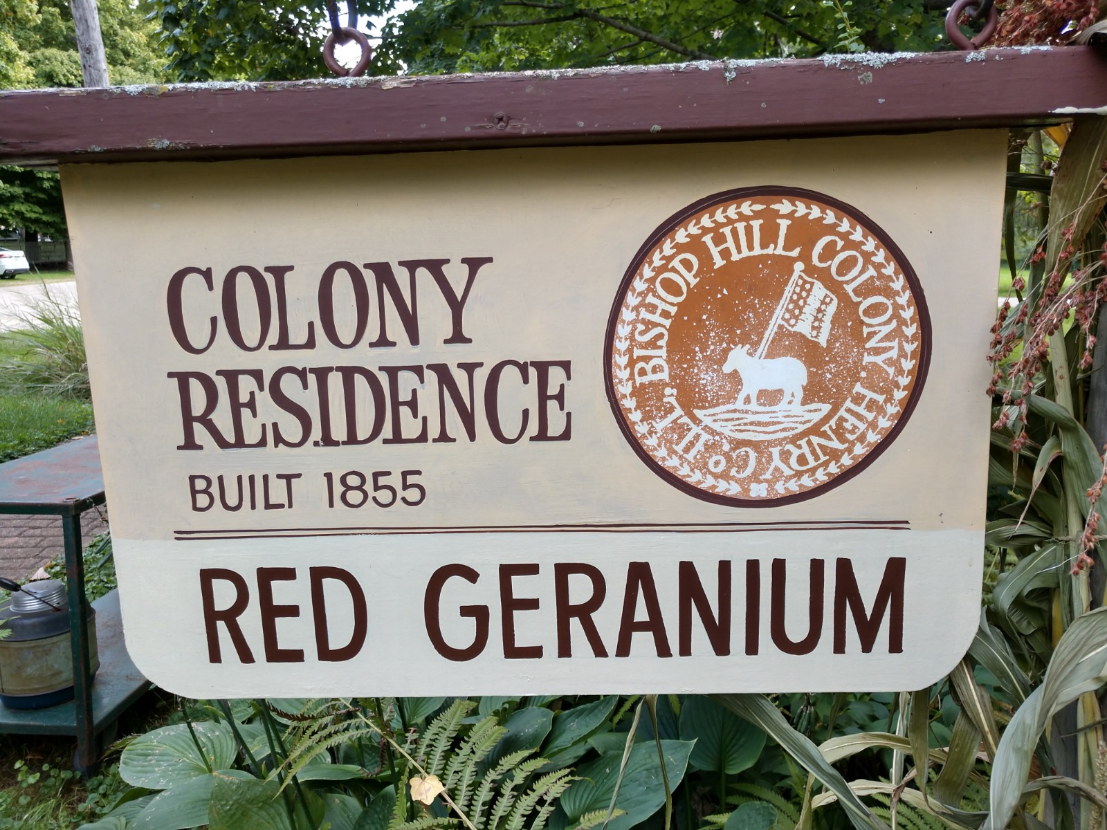 Colony Residence Sign