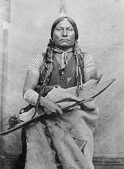 Chief Gall fought alongside Sitting Bull at Little Big Horn in 1876.
