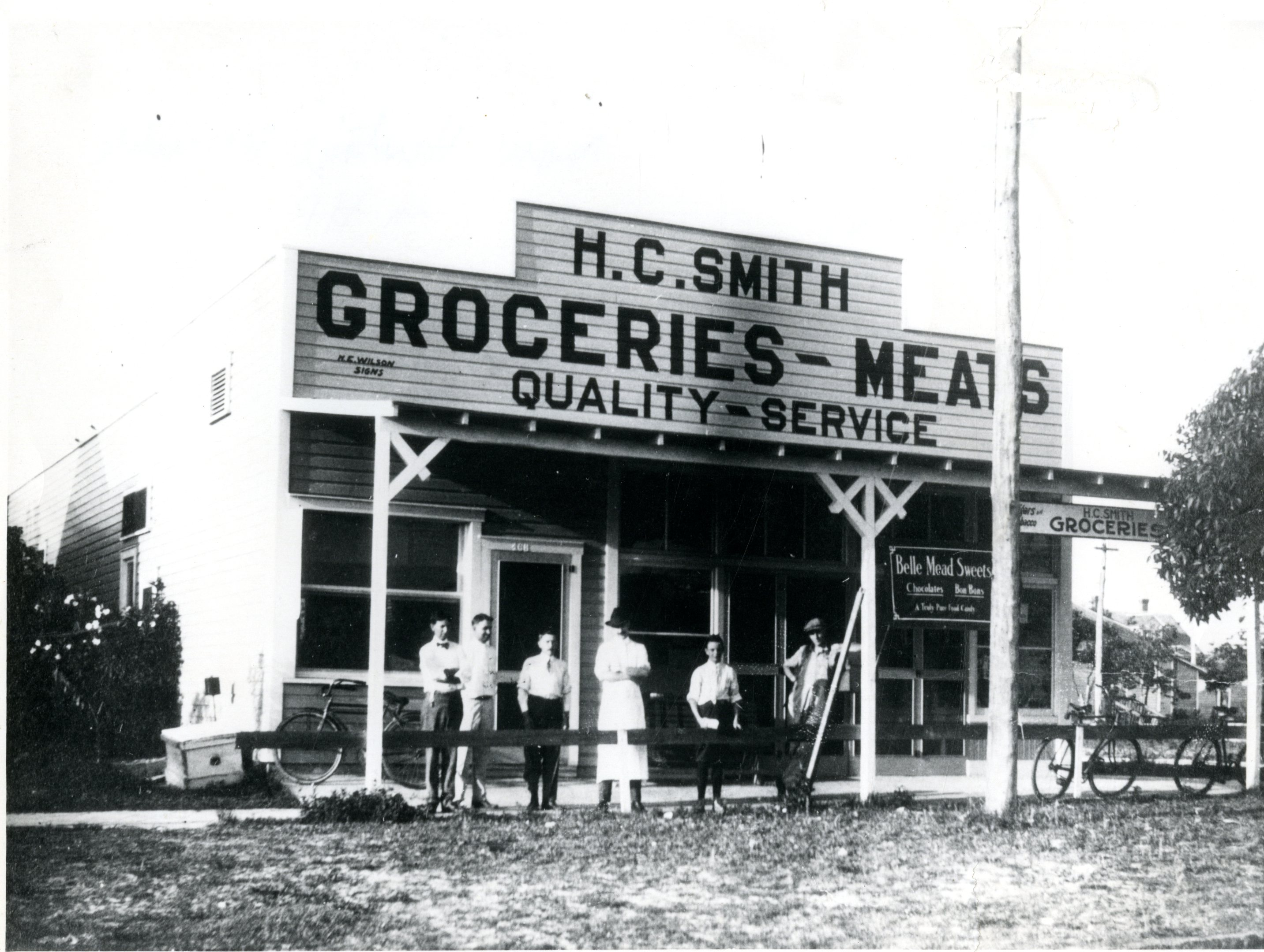 H.C. Smith Store, St. Petersburg, Florida, 1921.