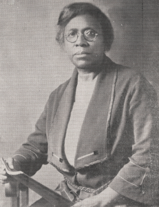 A picture of Dr. Matilda A. Evans.