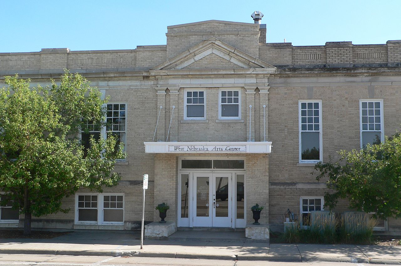 The Scottsbluff Carnegie Library was built in 1922.