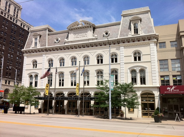 """The Victoria Theatre, where actor Fredric March got his start as one of the """"Wright Players"""" from 1927 to 1930."""