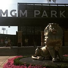 Front of MGM Park