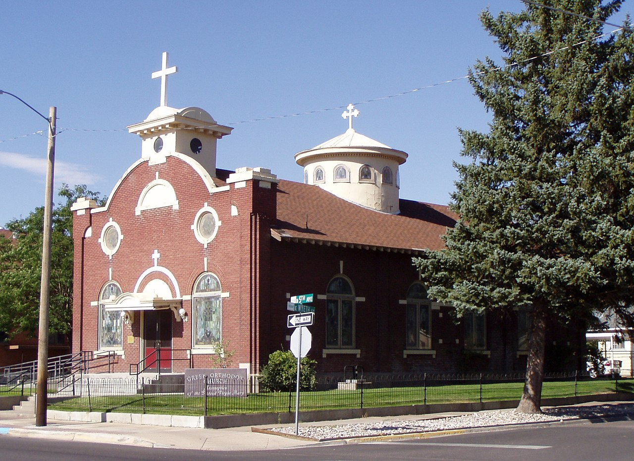 Assumption of the Blessed Virgin Mary Greek Orthodox Church was built in 1915.