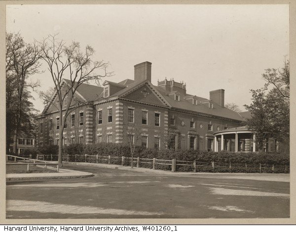 The Harvard Union, ca. 1910 from the Harvard University Archives. At this time the Union was still a social club intended as an alternative to the more elite social clubs on campus.