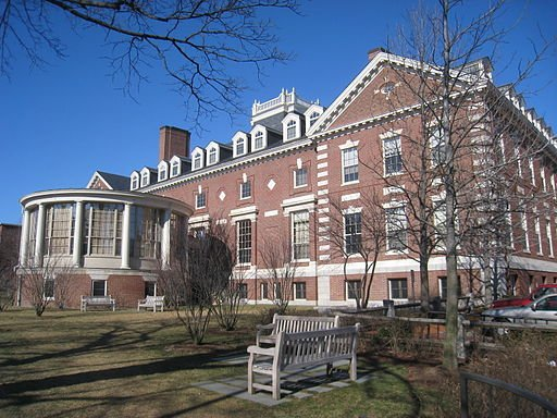 The Barker Center in 2010. Since 1996 the building of the original Union has housed the Barker Center for the Humanities.