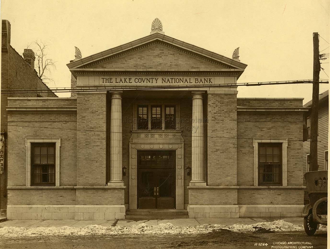 Lake County National Bank, 1923