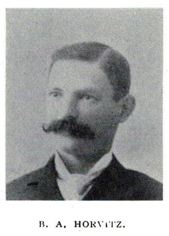 Burnett A. Horvitz portrait, 1897