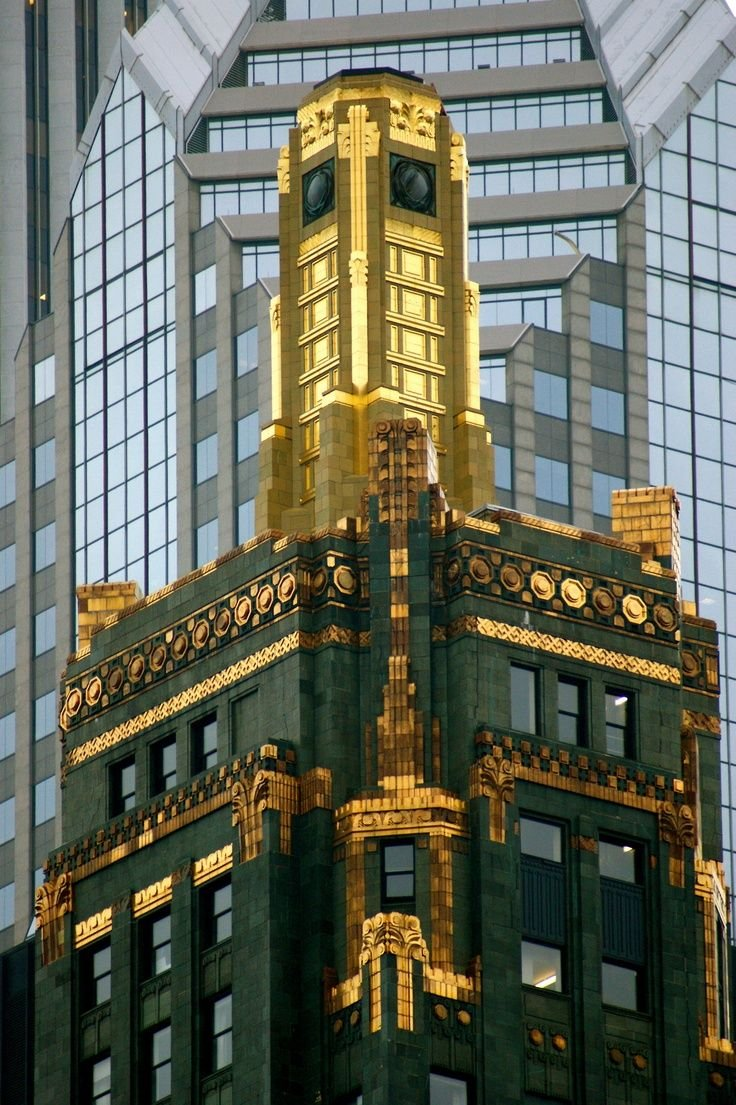 Carbide and Carbon Building top