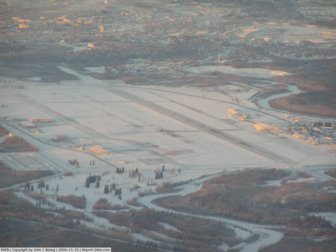 The Ladd Army Airfield