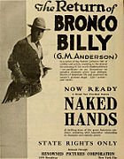 Aronson was America's first cowboy movie star and helped to create the Western movie genre.