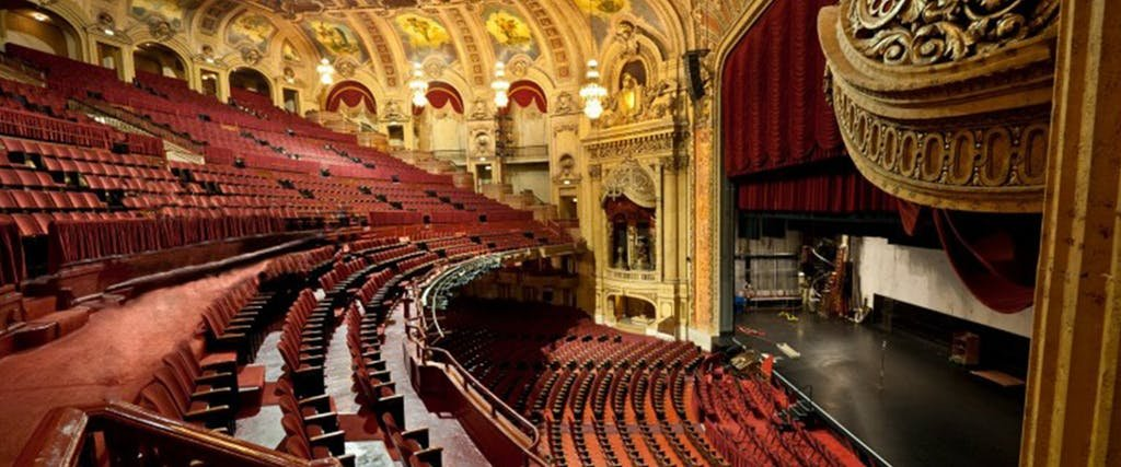 Chicago Theatre interior