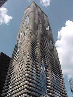 Aqua Building facade
