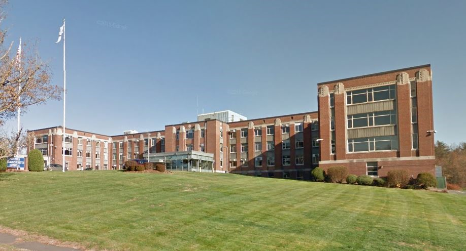 Current Building of the Western Massachusetts Hospital. The Sanatorium was moved across the street in 1937 to this building.