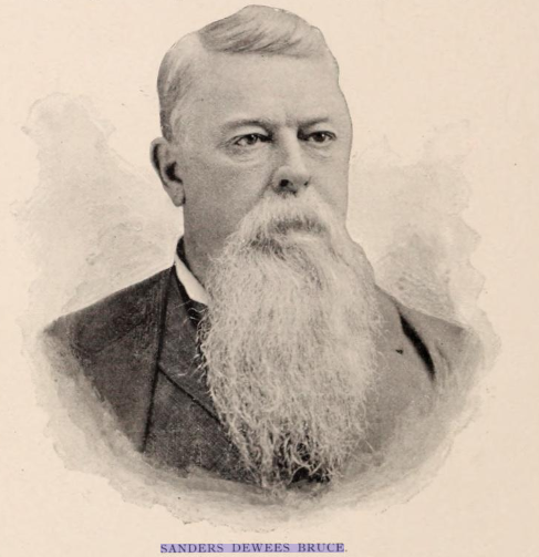A photo of Colonel Sanders D. Bruce. The Union Colonel who managed to hold Fort Defiance from 1863 to the end of the war, earning him the prestige of having the fort renamed after him.