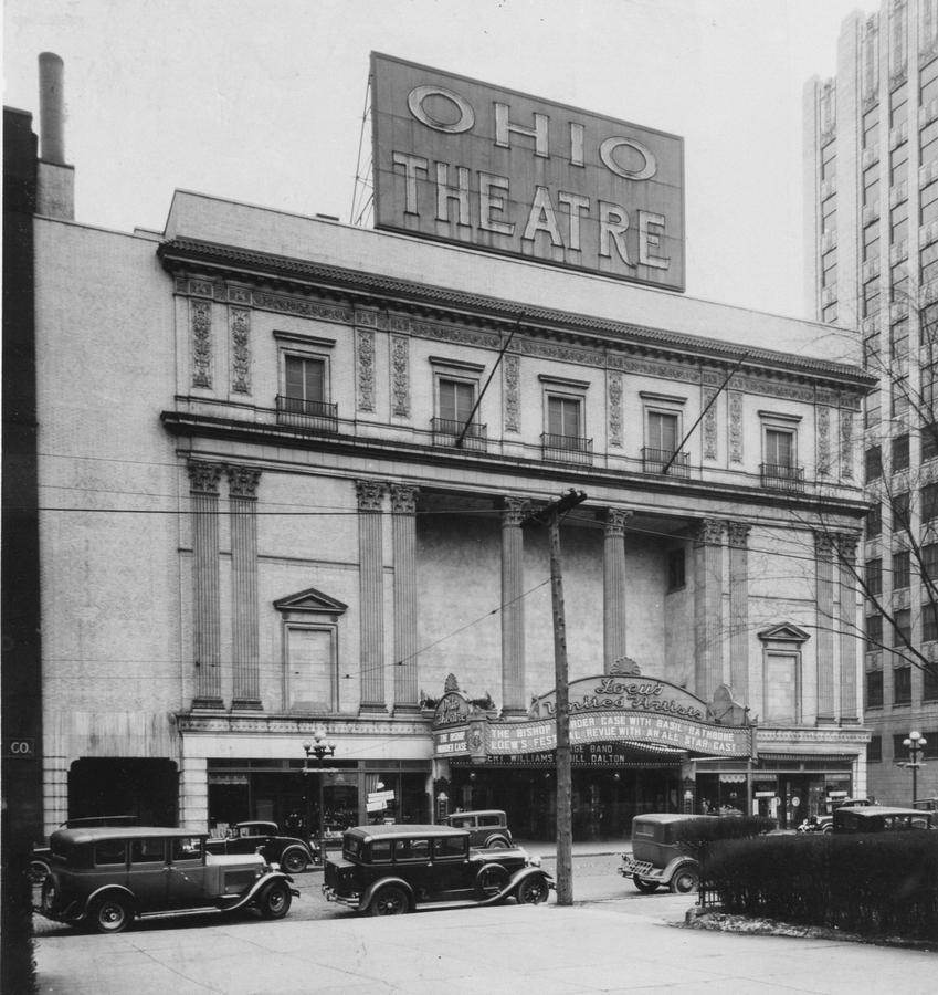 The Ohio Theatre in the 1930s.