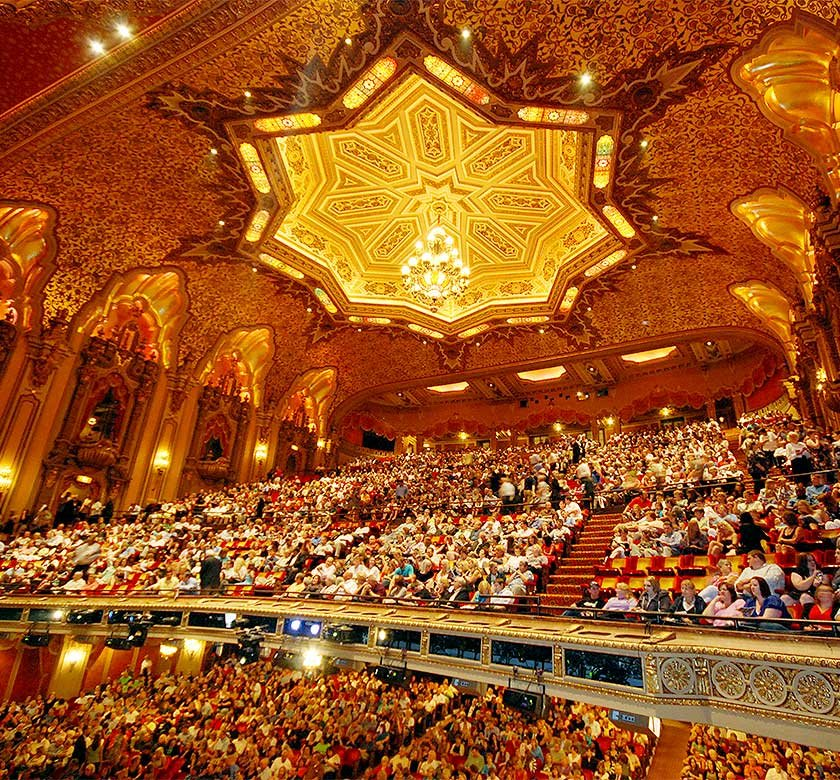 Inside the Ohio Theatre.