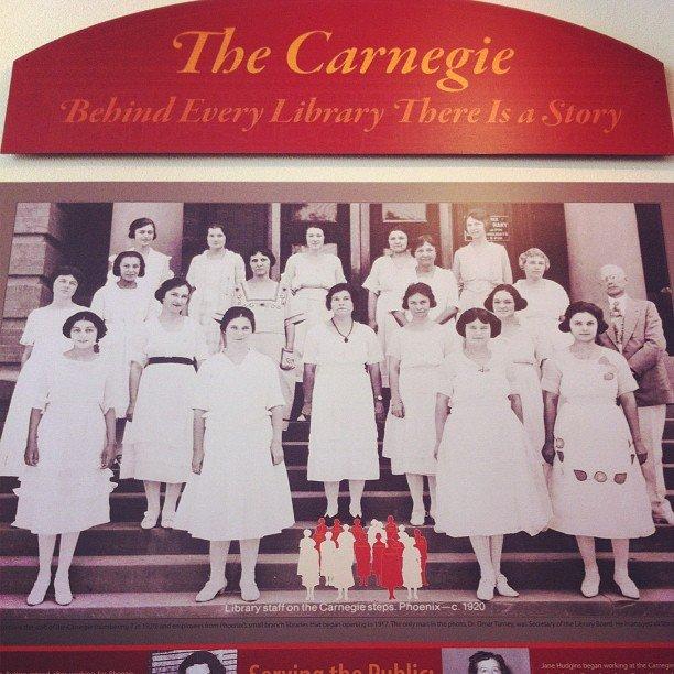 Phoenix Carnegie Library staff -- circa 1920.