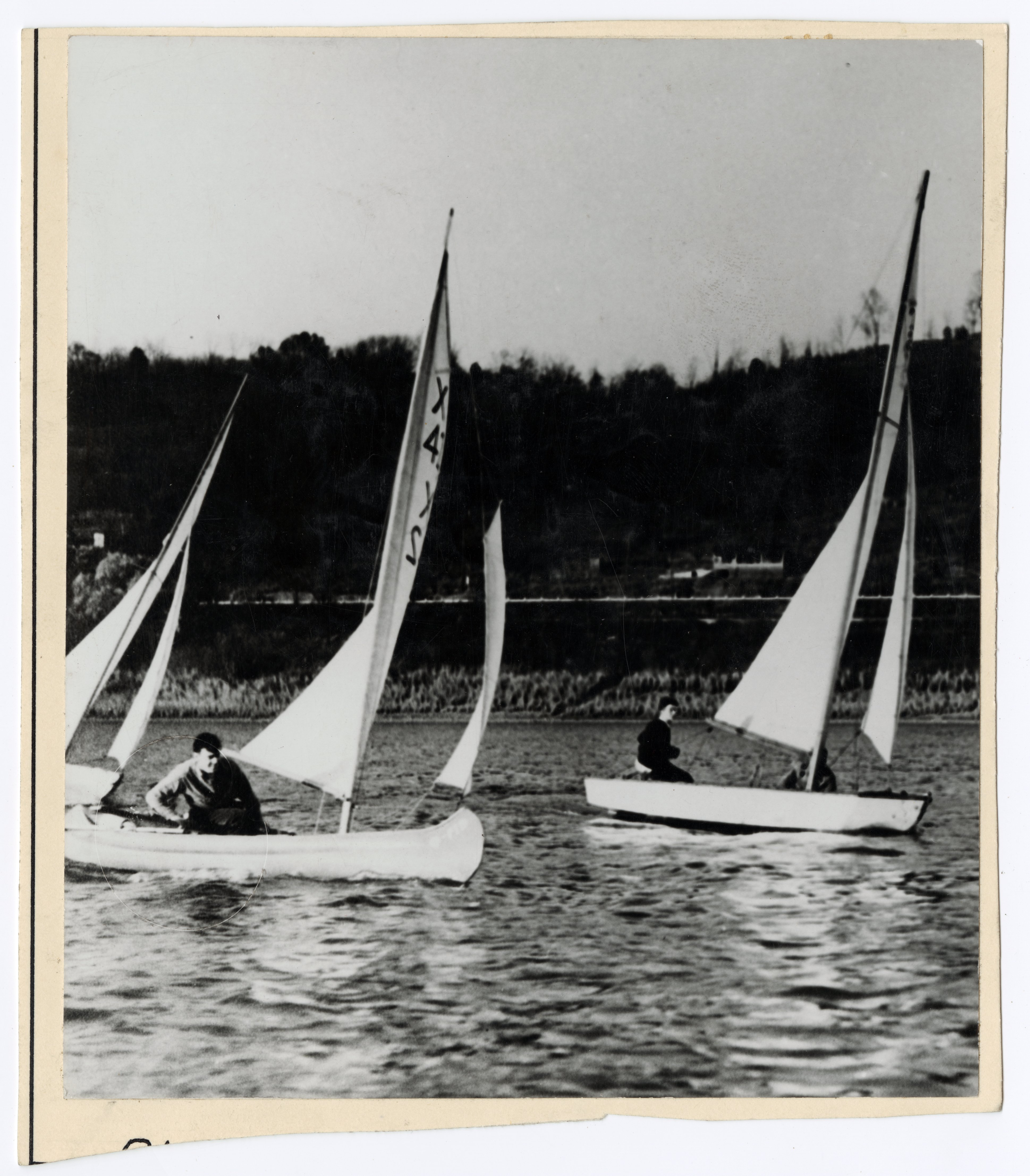 Sailing on the Ohio River courtesy of Ohio History Connection
