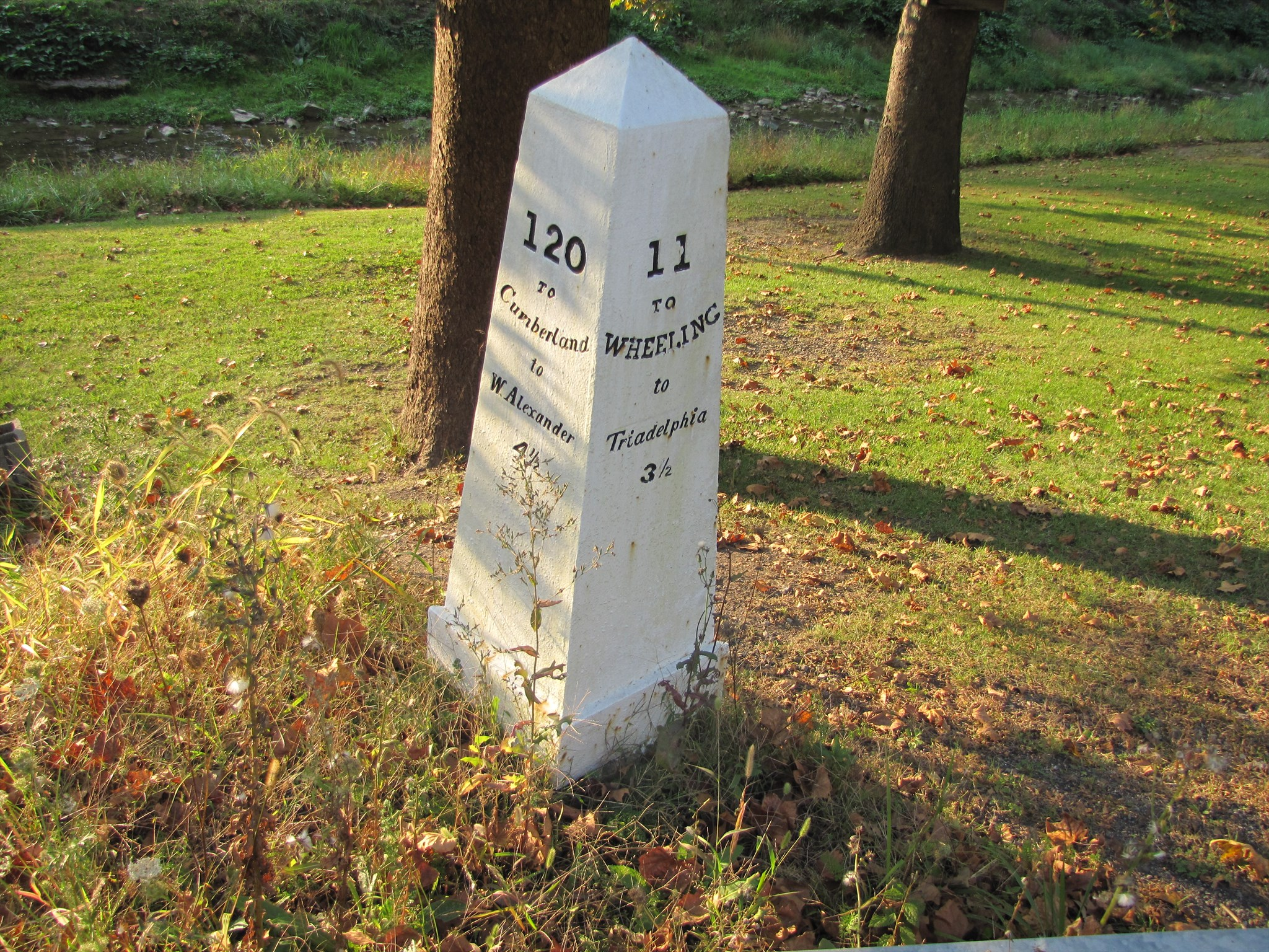 Photo of Mile Marker 11