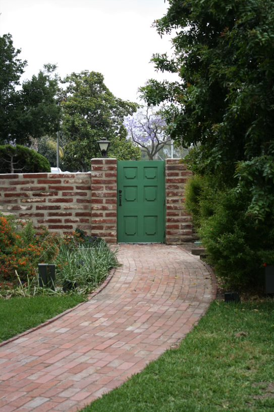 Brick Pathway (heading toward Country Club gate)