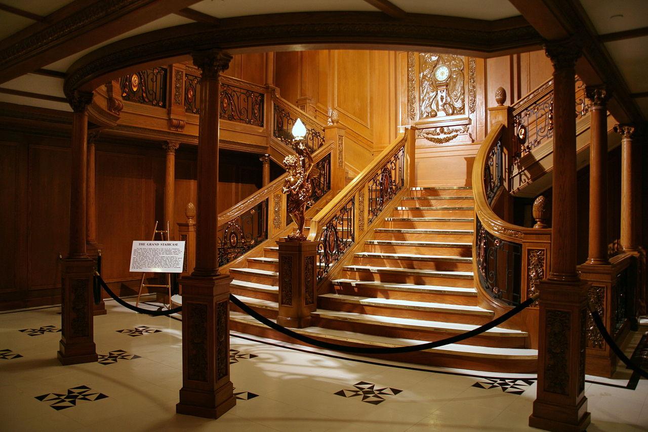 Replica of the Grand Staircase