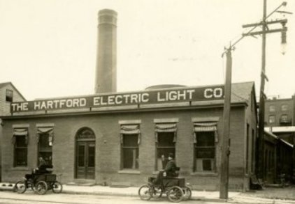 The HELCO Building in 1902, Publicly Available Photo from the Hartford Historical Society